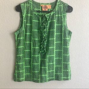 Tory Burch women's sleeveless blouse